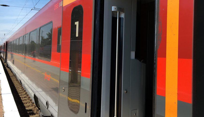 Mit dem Zug von Berlin nach Wien: Railjet ab 37€ pro Strecke