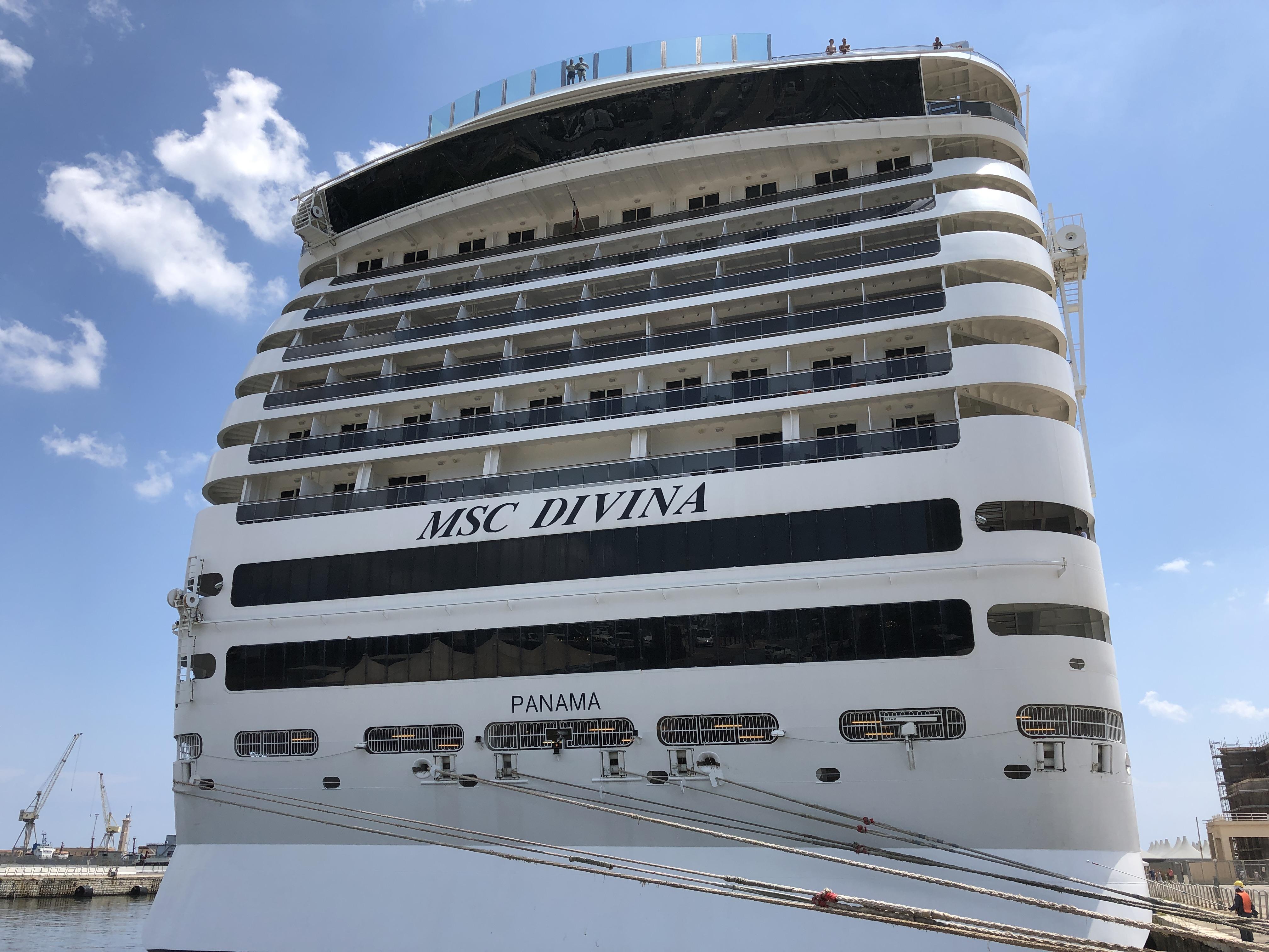 Review – Balkonkabine auf der MSC Divina