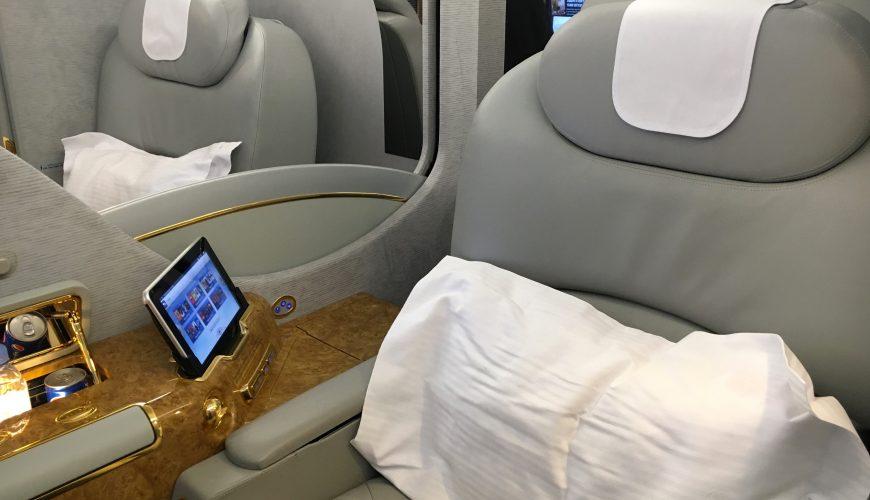 Emirates First Class ab 3.550€ von Deutschland