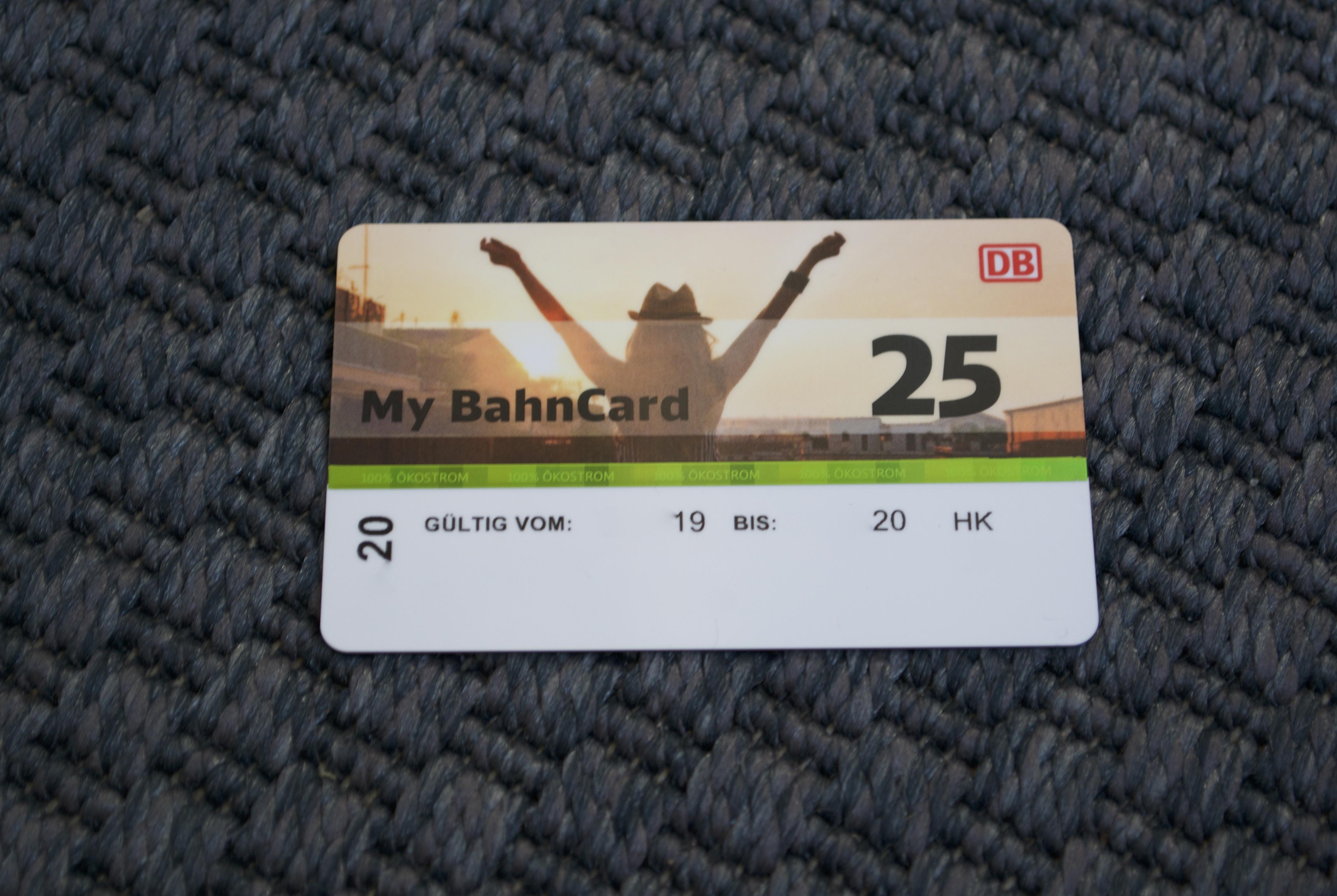 Nun auch die DB BahnCard ca. 10% günstiger kaufen!