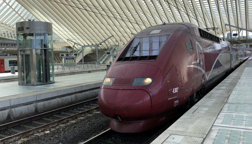 Thalys Sale nach Frankreich ab 30€pro Strecke!