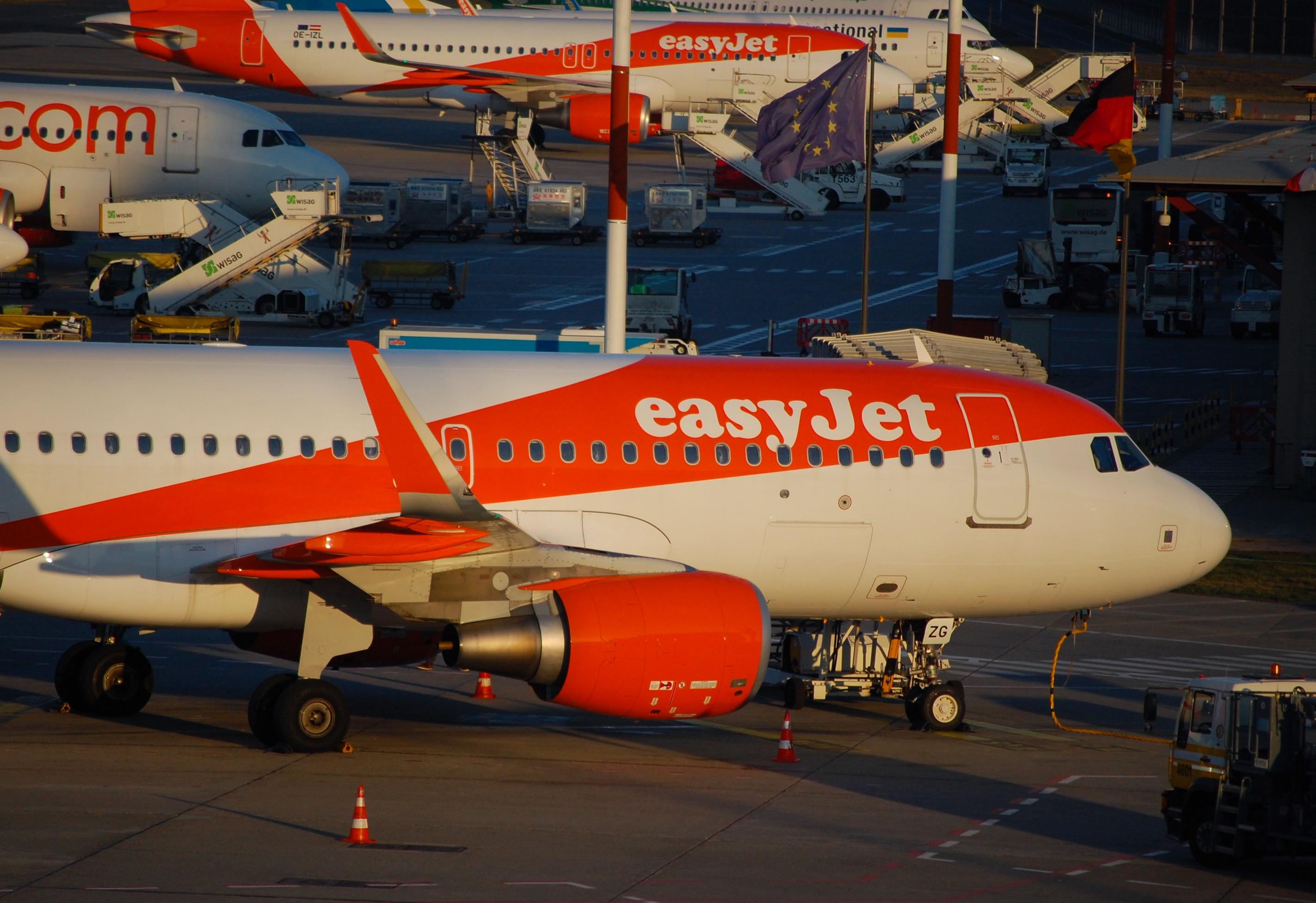 easyJet Flüge mit 20% Rabatt buchen