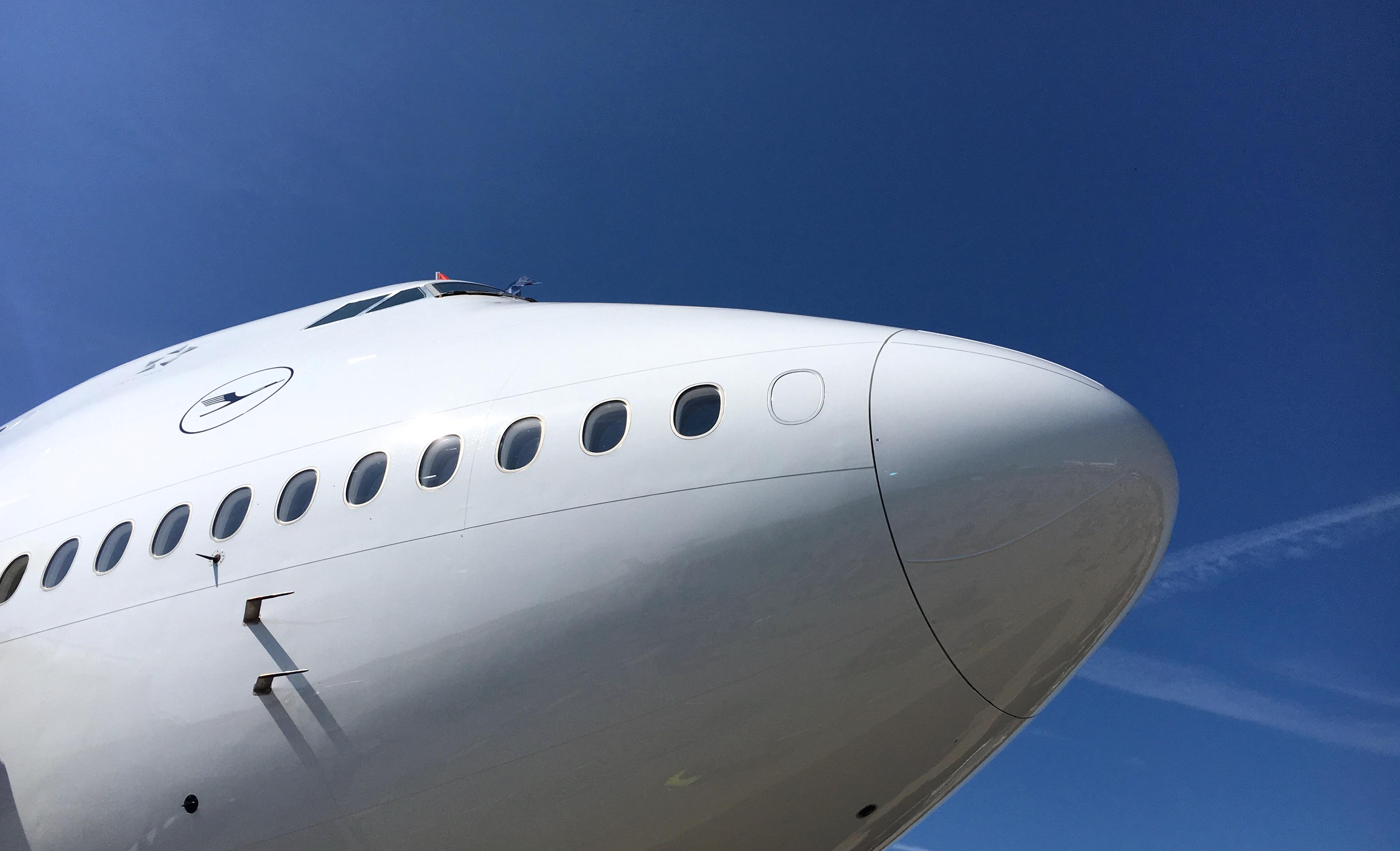 Die Lufthansa Group setzt ab sofort alle Flüge nach China aus!