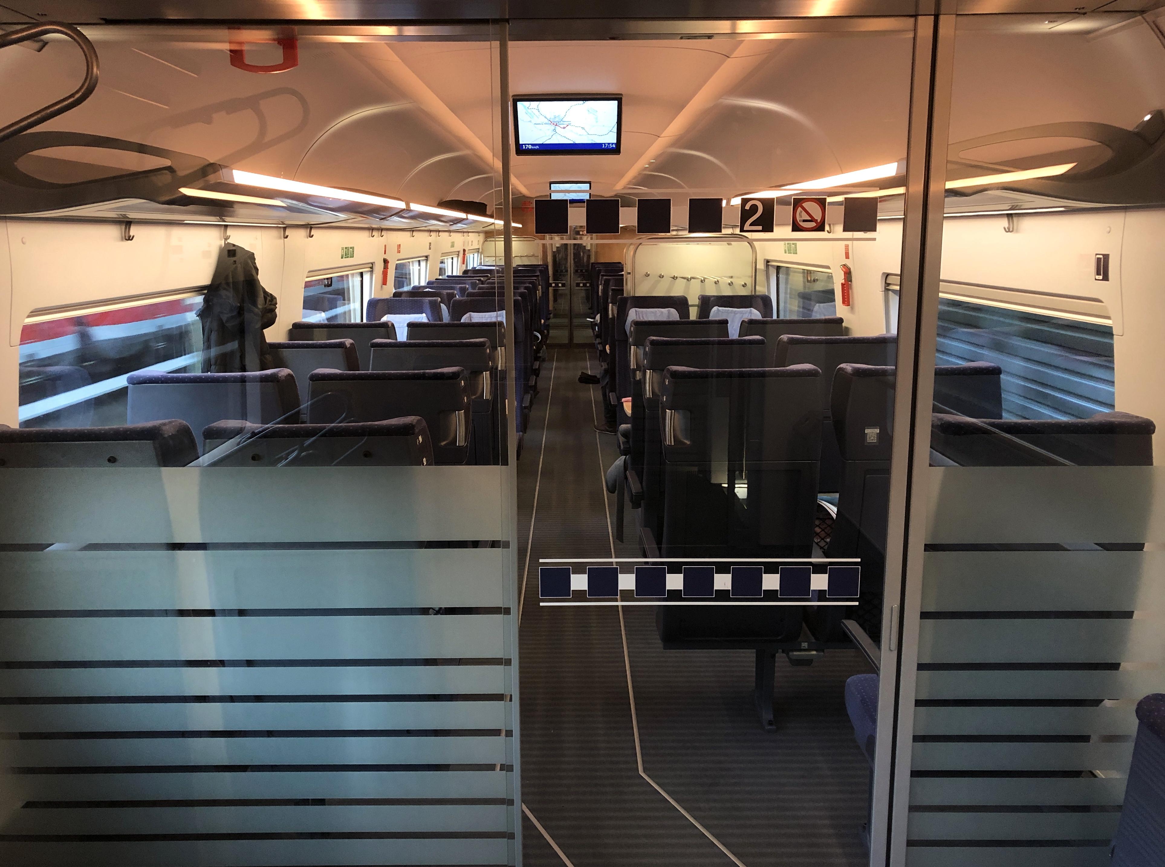 Deutsche Bahn erhöht die Frequenzen und macht zahlreiche Strecken buchbar