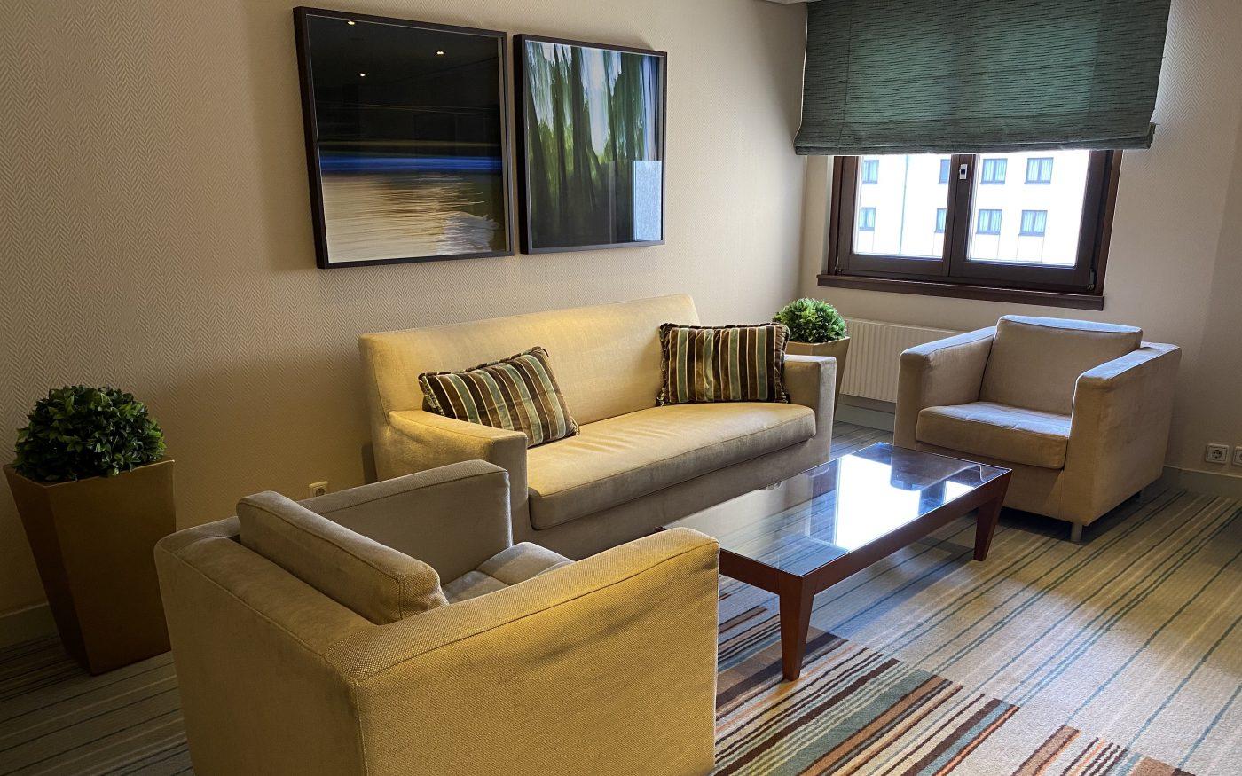 Lounge Ecke auf der Executive Etage