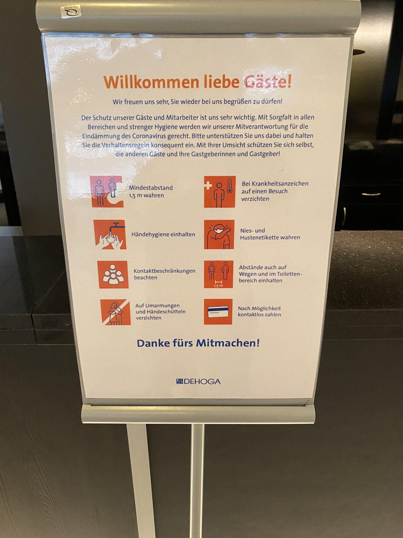 Hilton Dresden Hygienevorschrift