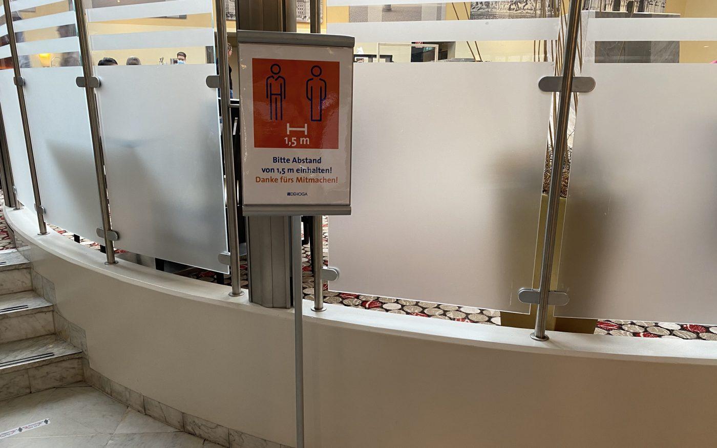 Hilton Dresden zu Coronazeiten