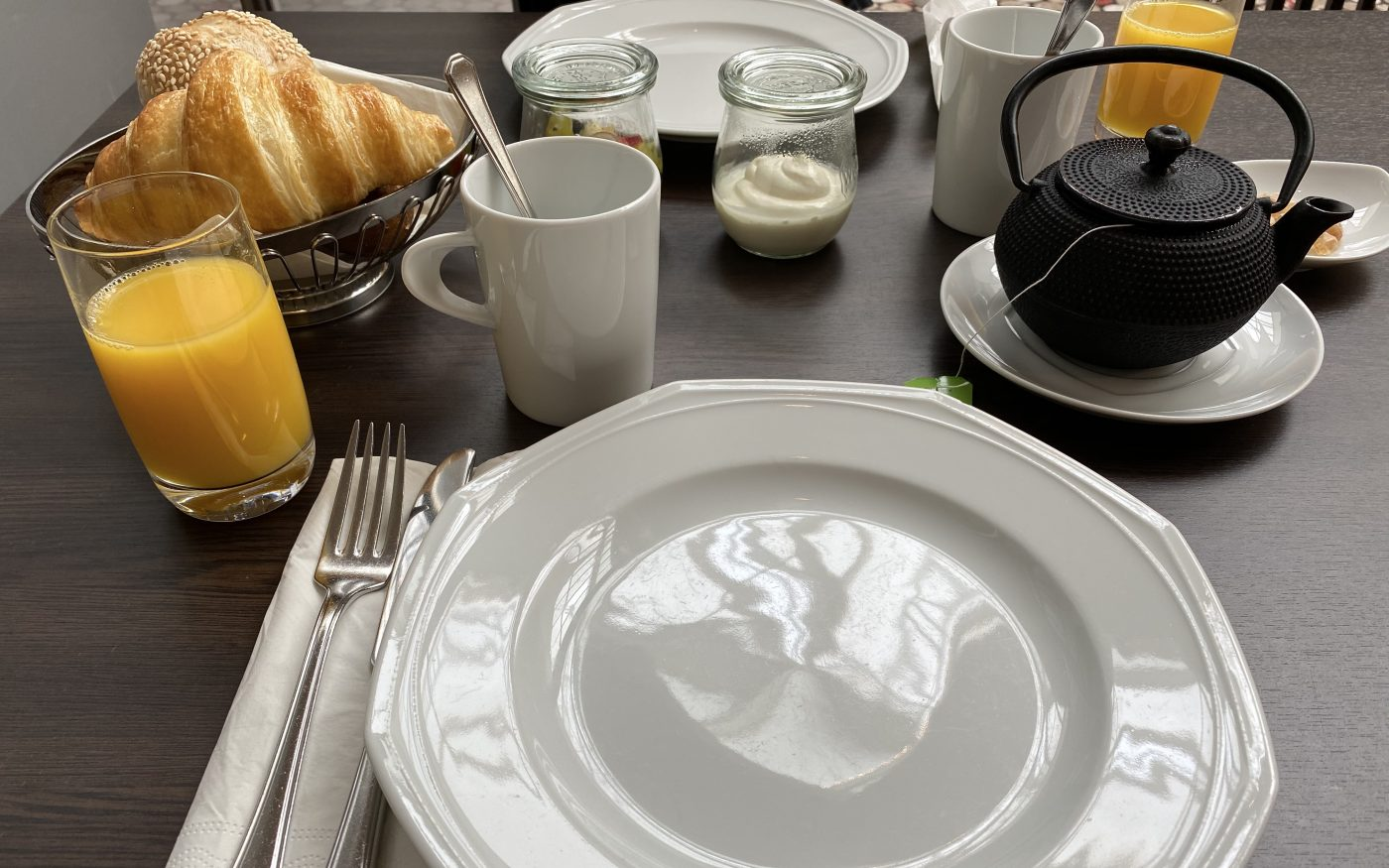 Frühstück im Hilton Dresden